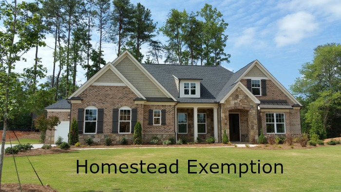 What Re The Property Taxes For Homestead Exemption